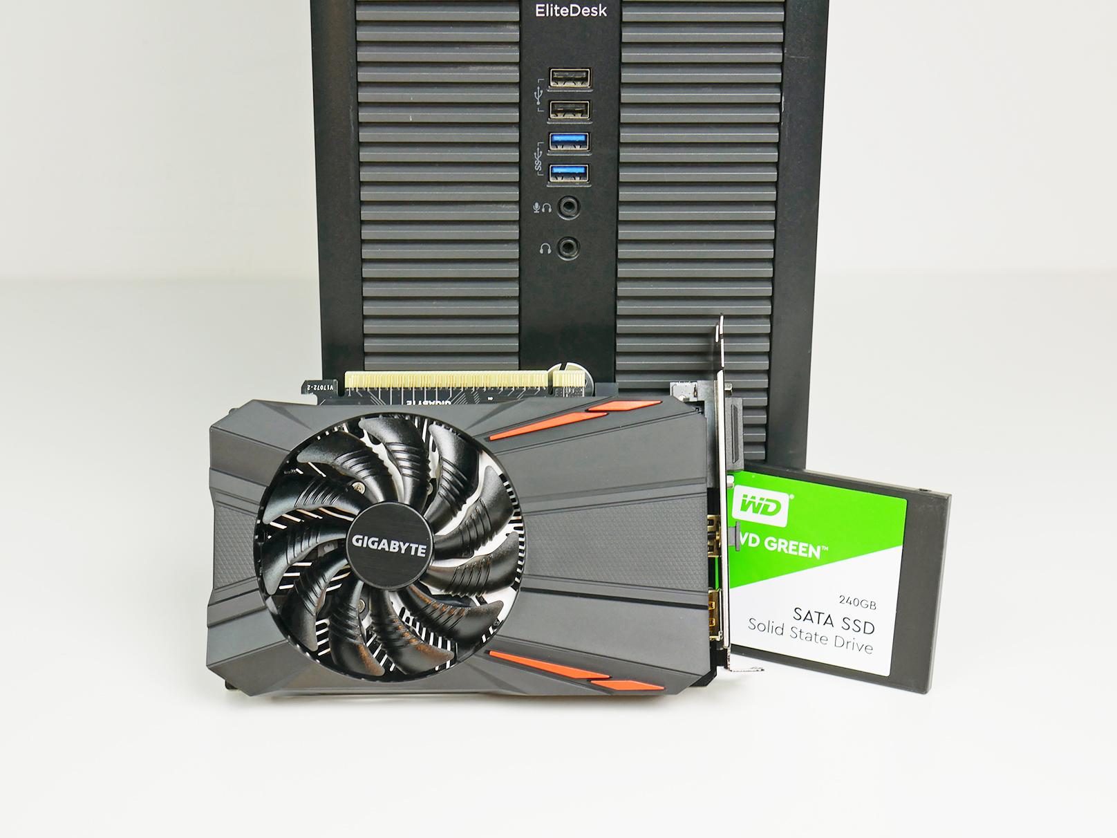 Komputer do grania poleasingowy GTX 1050
